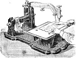 Click here to enlarge image and see more about item smm118: PRINTED Wheeler and Wilson 1 to 4 early sewing machine manual (smm118)