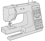 Click here to enlarge image and see more about item smm1190: PRINTED Kenmore by Sears 1960 sewing machine manual (smm1190)