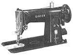Click to view larger image of Singer model 191 sewing machine manual (Image1)