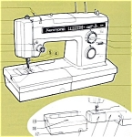 Click here to enlarge image and see more about item smm1211: PRINTED Kenmore by Sears 1931 sewing machine manual (smm1211)