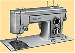 Click here to enlarge image and see more about item smm1230: PRINTED Kenmore by Sears 1305 sewing machine manual (smm1230)