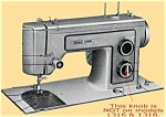 Click to view larger image of PRINTED Kenmore by Sears 1318 sewing machine manual (smm1230d) (Image1)