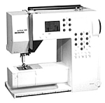 Click here to enlarge image and see more about item smm1303: Bernina model 125 Activa sewing machine manual