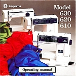 Click here to enlarge image and see more about item smm1389c: Husqvarna 610 620 630 Optima sewing machine manual