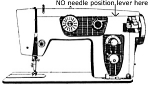 Click here to enlarge image and see more about item smm1395: PRINTED Un named sewing machine manual (smm1395)