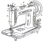 Click here to enlarge image and see more about item smm145: PRINTED Minnesota by Sears model L sewing machine manual (smm145)