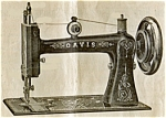 Click here to enlarge image and see more about item smm1464: Davis New High Arm treadle sewing machine manual