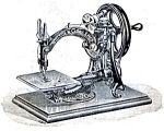 Click here to enlarge image and see more about item smm1467: PRINTED Willcox and Gibbs treadle hand crank electric sewing machine manual (smm1467)