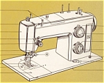 Click to view larger image of PRINTED Kenmore by Sears 1755 sewing machine manual (smm146) (Image1)