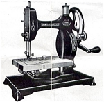Click here to enlarge image and see more about item smm1480a: PRINTED Little Worker Midget by New Home sewing machine manual (smm1480a)