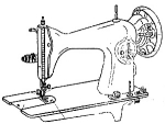 Click here to enlarge image and see more about item smm1514: JA-2, JA2-2,  Happy, Generic Singer 15 sewing machine manual