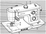 Click here to enlarge image and see more about item smm1522: PRINTED Kenmore by Sears 1311 sewing machine manual (smm1522)