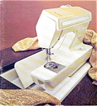 Click here to enlarge image and see more about item smm154: PRINTED Singer 920 Futura II sewing machine manual (smm154)