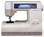 Click here to enlarge image and see more about item smm1578: PRINTED Memory Craft New Home 8000 sewing machine manual (smm1578)
