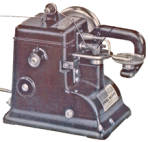 Click here to enlarge image and see more about item smm1589bpdf: Bonis fur sewing machine manual with adjusting and parts info