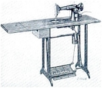 Click here to enlarge image and see more about item smm160: PRINTED Singer 1200-1 Dressmakers sewing machine manual (smm160)