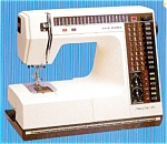 Click here to enlarge image and see more about item smm161a: PRINTED Memory Craft New Home 6000 sewing machine manual (smm161a)
