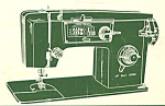 Click here to enlarge image and see more about item smm1625a: KAB-M Viking sewing machine manual