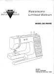 Click here to enlarge image and see more about item smm1632: PRINTED Kenmore Sears 1960 sewing machine service repair manual (smm1632)