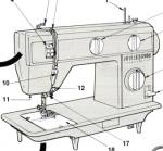 Click here to enlarge image and see more about item smm166pdf: DOWNLOAD / PDF Singer 3005 sewing machine manual (smm166pdf)