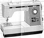 Click to view larger image of PRINTED Kenmore by Sears 17891 sewing machine manual (smm1672) (Image1)