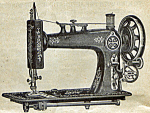 Click here to enlarge image and see more about item smm1722c: Home Queen by National sewing machine instruction manual