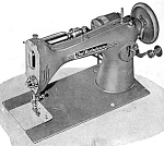 Click here to enlarge image and see more about item smm1725a: PRINTED Westinghouse Free NHR sewing machine manual (smm1725a)