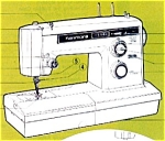Click here to enlarge image and see more about item smm172: PRINTED Kenmore by Sears 1941 sewing machine manual (smm172)