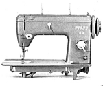 Click here to enlarge image and see more about item smm1761: PRINTED Pfaff model 60 sewing machine manual (smm1761)