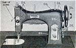 Click here to enlarge image and see more about item smm177: Domestic 153 rotary electric sewing machine manual