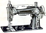 Click here to enlarge image and see more about item smm181: PRINTED National Exp. B. T. and Eldredge E sewing machine instruction manual (smm181)