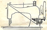 Click here to enlarge image and see more about item smm184pdf: Jones hand crank sewing machine instruction