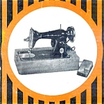 Click here to enlarge image and see more about item smm186: PRINTED Martin Deluxe sewing machine manual (smm186)