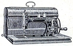 Click here to enlarge image and see more about item smm1895: PRINTED Saxonia sewing machine manual (smm1895)