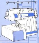 Huskylock 1000, 1000L and 1001L serger sewing machine instruction manual