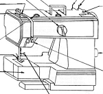 Click here to enlarge image and see more about item smm2087a: Husqvarna 165 Husky sewing machine manual