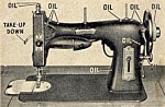 Click to view larger image of Domestic 151 rotary sewing machine manual (Image1)