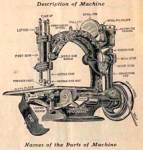 Click here to enlarge image and see more about item smm265b: PRINTED National B Eldredge Automatic sewing machine manual (smm265b)
