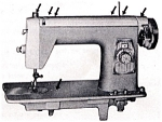 Click here to enlarge image and see more about item smm270: PRINTED Un named sewing machine manual (smm270)