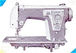 Click here to enlarge image and see more about item smm271: PRINTED Un named sewing machine manual (smm271)
