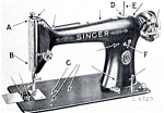 Click here to enlarge image and see more about item smm275: PRINTED Singer 101-3 sewing machine manual (smm275)