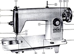 Click here to enlarge image and see more about item smm284: Electro Grand sewing machine manual