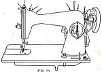 Click here to enlarge image and see more about item smm290a: Montgomery Ward  185 sewing machine manual