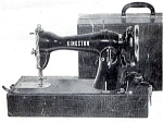 Click here to enlarge image and see more about item smm292: Kingston sewing machine manual