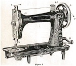 Click here to enlarge image and see more about item smm297b: Eldredge Two Spool sewing machine manual