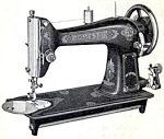 Click here to enlarge image and see more about item smm304: Domestic 69 rotary electric  sewing machine manual