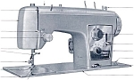 Click here to enlarge image and see more about item smm309: PRINTED Kenmore by Sears 1752 sewing machine manual (smm309)