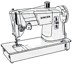Click here to enlarge image and see more about item smm328: Singer 315  sewing machine manual (smm328)