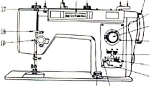 Click here to enlarge image and see more about item smm337: Brother 684  sewing machine manual