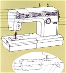 Click here to enlarge image and see more about item smm354: PRINTED Kenmore by Sears 1914 sewing machine manual (smm354)